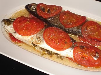 Greek Sea Bass (Lavraki) Recipe