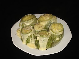 Greek Stuffed Marrows (Kolokithia Gemista) With Avgolemono Sauce Recipe