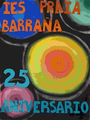 Cartel conmemorativo do 25º Aniversario