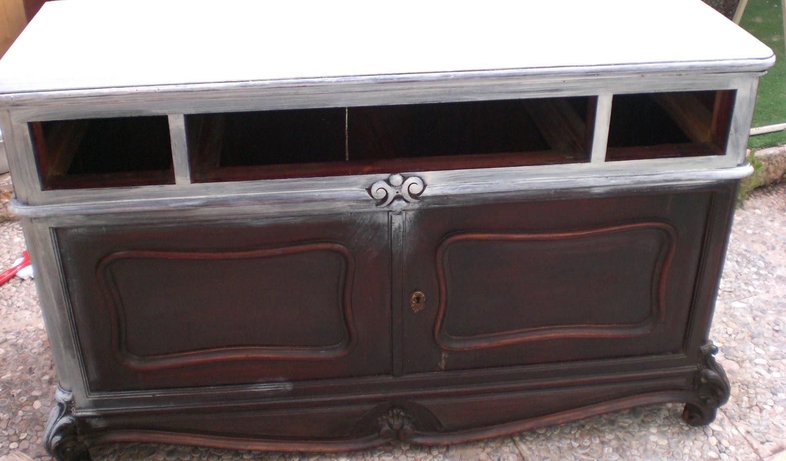 Quiero pintar un mueble pero est barnizado pinturadecor - Pintar mueble antiguo ...