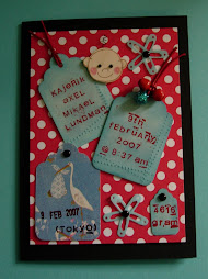 baby boy card