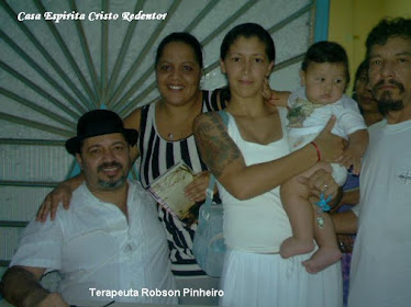 PALESTRA COM TERAPEUTA ROBSON PINHEIRO