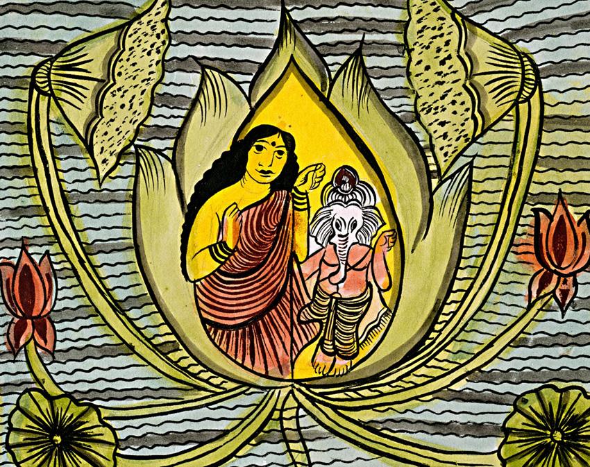 ganesh lotus patua