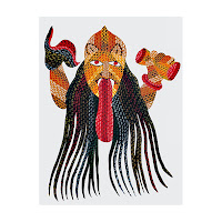 painting gond tribe india
