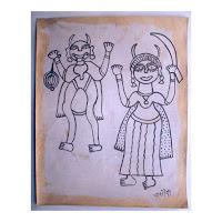 chano devi madhubani painting<br />