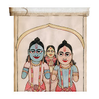 scroll painting bihar west bengal
