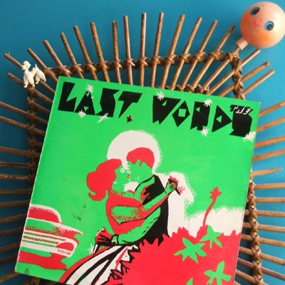 The Last Words Walk away armageddon records australia punk 1980