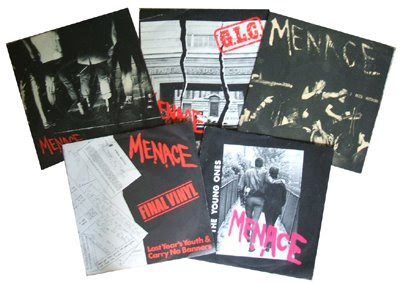 Menace Live for today 1980 fresh records punk