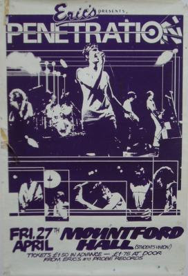 Penetration Money talks 1977 virgin punk