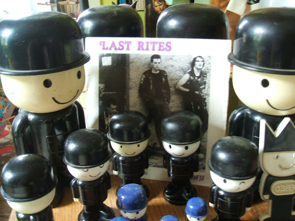LAST RITES We don't care 1983 flicknife records punk