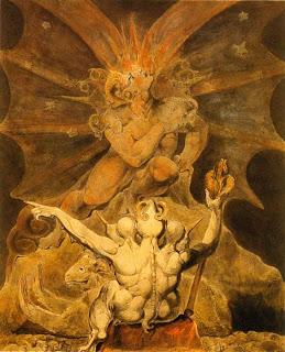 William Blake - ROMANTICISMO Dragon_rojo_blake_04