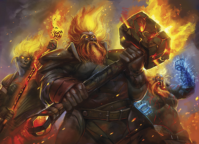 neverwinter fire giant - photo #5
