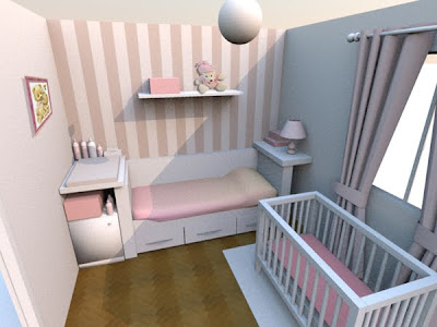 dise o y decoraci n en 3d de una habitaci n para beb ii