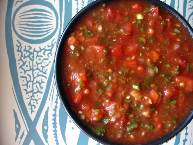 The Hungry Texan: Salsa Roja