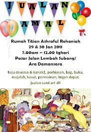 Jualan Amal Rumah Titiah Ashraful Rohaniah 2011