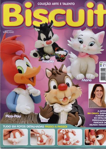 REVISTAS BISCUIT PERSONAGENS INFANTIS DISNEY
