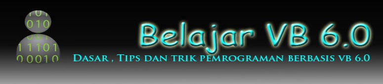 Belajar VB 6.0, visual basic ,download ,visual studio sintak kode