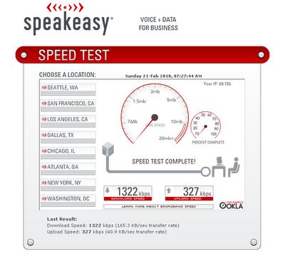 Speedeasy.net - Speed Test