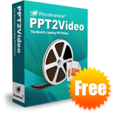 Wondershare PPT2Video Free