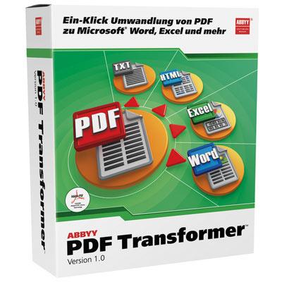 ABBYY PDF Transformer 1.0