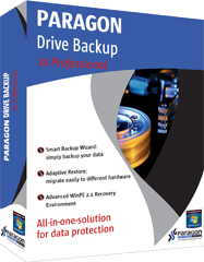 Paragon Drive Backup 10 Professional Edition