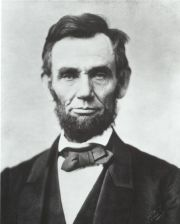 the Abraham Lincoln with whiskers