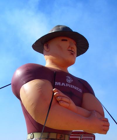 Lackland AFB Air Fest - Marine Balloon
