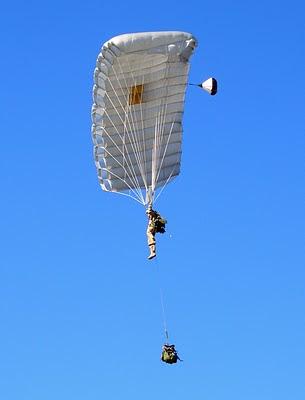 USAF CCT HALO Jump - Team Member Gliding
