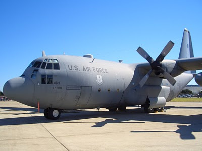 Lackland AFB Air Fest: C-130 Hercules - Left Side
