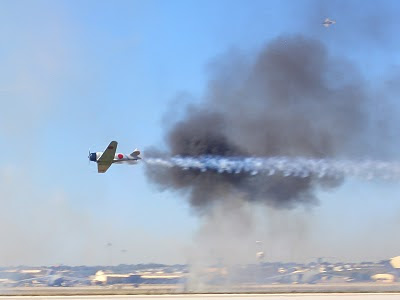 Lackland AFB Air Fest: Tora! Tora! Tora! - Japan Aircraft Escape Away