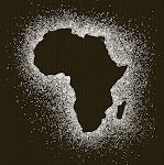 Spatter Africa - White Ink