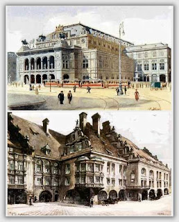 Adolf Hitler: Pintor y Arquitecto - CGnauta blog