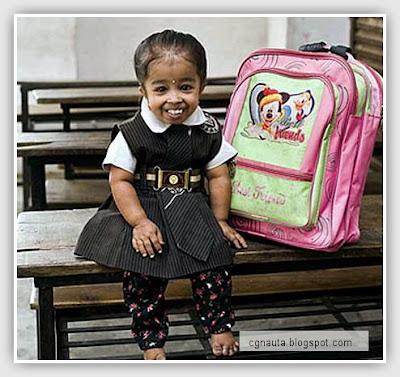 La niña más pequeña del mundo: Jyoti Amge