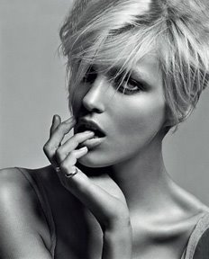 All about Anja Rubik (click on the photo)