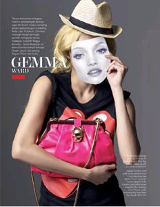 All about Gemma Ward (click on the photo)