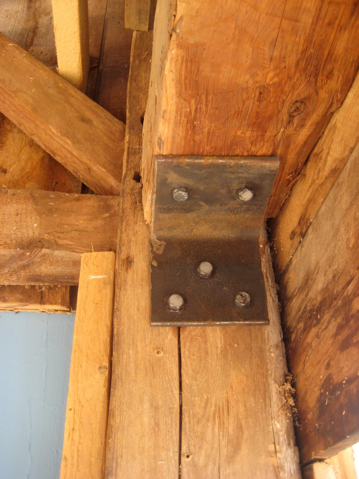 Pole Barn Post Brackets : Barn beam brackets joy studio design gallery best