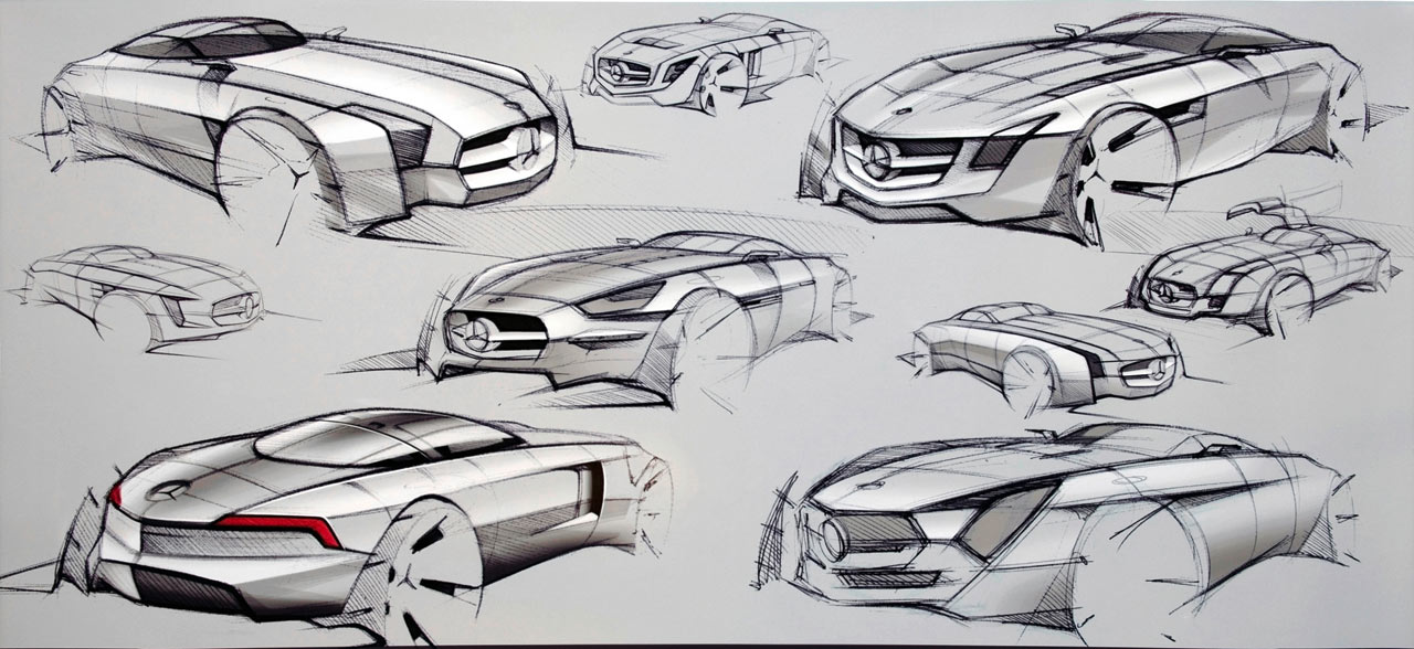 American Concept Car Reminds Us Of A Time When The Art Hand Drawing Was Integrally Linked To Americas Most Defining Enterprise Automotive