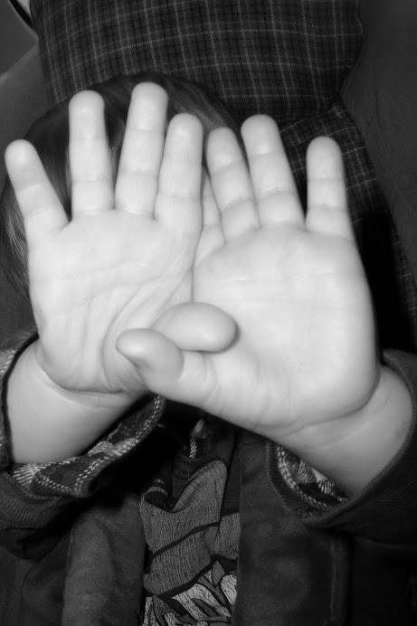 Coleman Thomas's hands