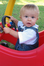 Coleman in the car