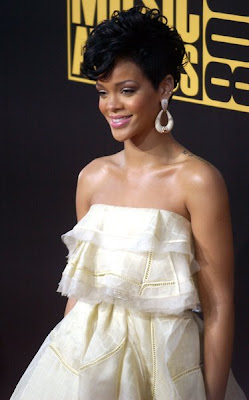 New Short Hair Styles - Updo Styles of Rihanna