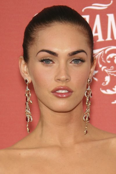 formal hairstyles. Megan Fox formal hairstyle