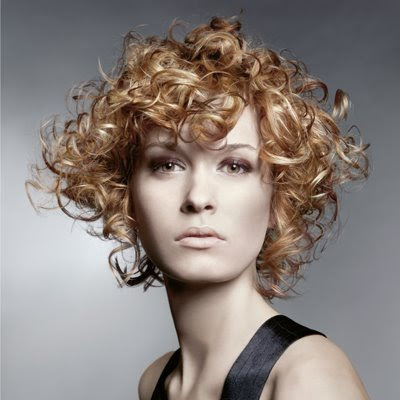 Short Curly Hairstyles - Summer