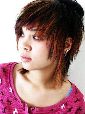 Short hair style for cute little emo girls emo girls short haircuts