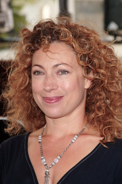 TYG 000615 Alex Kingston Natural Curly Hairstyles