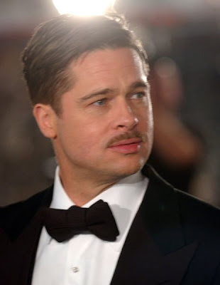 "Brad Pitt – This actor, sometimes, with long locks like in ""Meet Joe Black"""