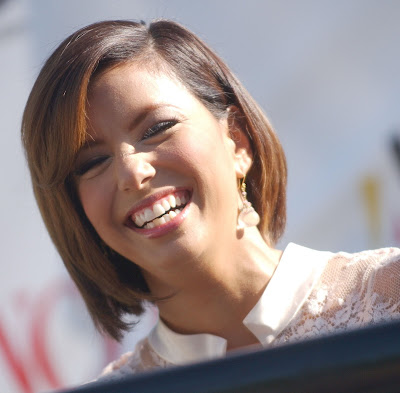 Eva+Longoria+Bob+Hairstyle Straight Hairstyles for Fine Hair