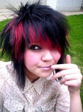 scene hairstyles 2011