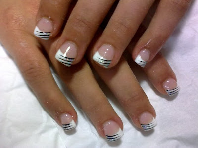French Tip Nail Designs For Wedding