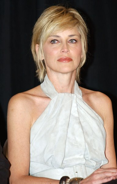 sharon stone hairstyle. Sharon Stone is among the few