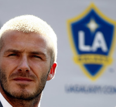 David Beckham bald haircuts -a cool hairucts for hot day, right?